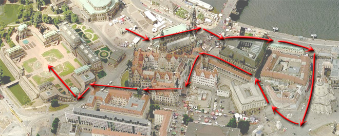 Экскурсия по Дрездену