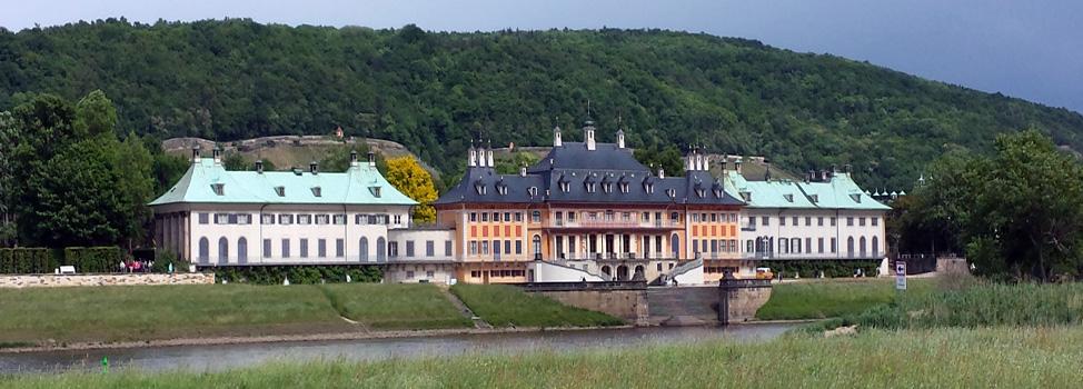 Экскурстии в Дрездене Пильниц