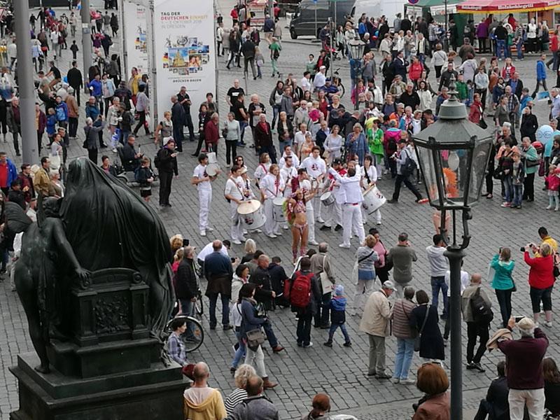 День немецкого единства в Дрездене