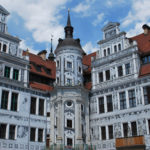 Дрезден внутренний двор Дворца-резиденции