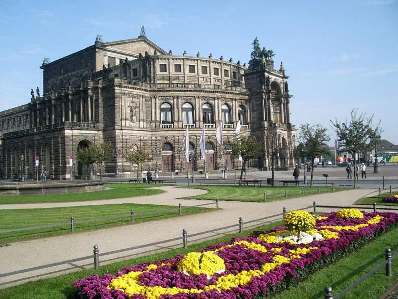Дрезден Земпер-опера Semperoper