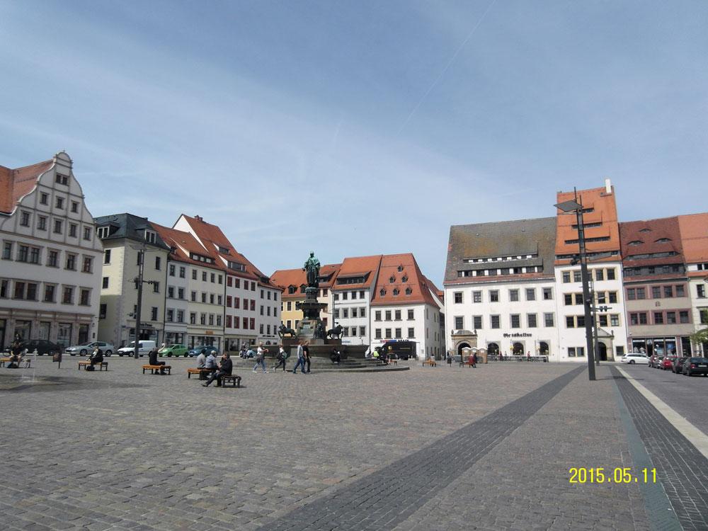 Фрайберг Рыночная площадь